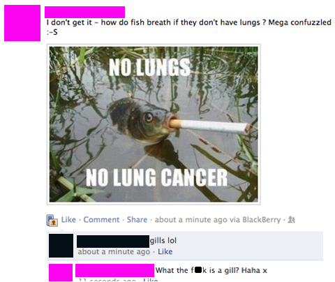 I dont get it - how do fish breath if they have lungs, mega confuzzled